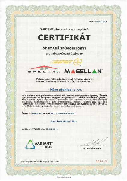 MamPrehled_cert_Andrysek2014_Paradox