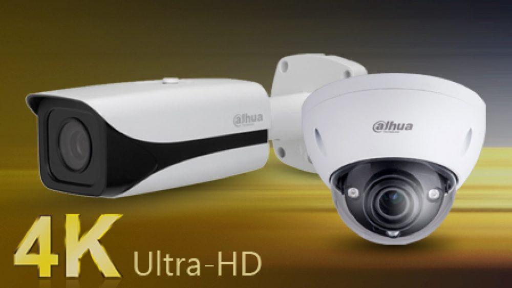IP kamerový systémy 4K Dahua